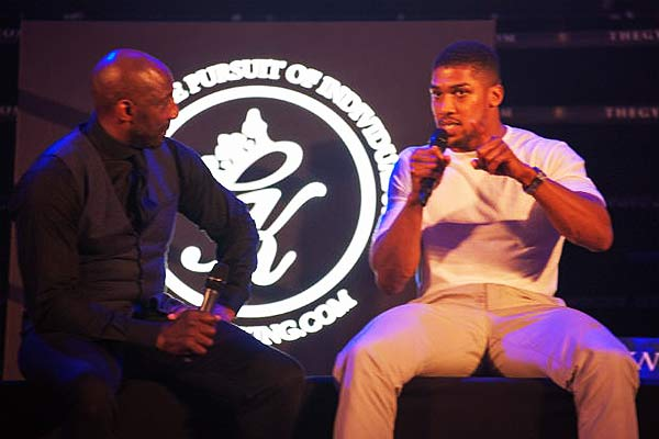 An Evening with Anthony Joshua