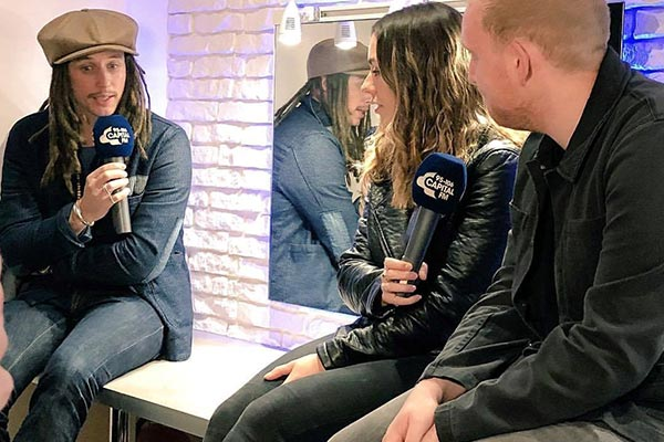 JP Cooper Performs at Athena